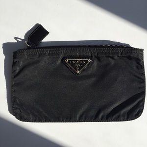 PRADA Black Makeup Bag
